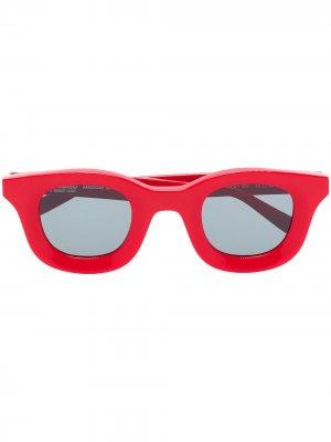 Солнцезащитные очки Rhodeo 657 из коллаборации с Rhude Thierry Lasry. Цвет: красный
