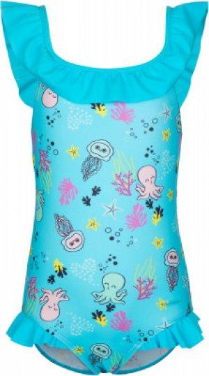 Купальник для девочек , размер 116 Joss. Цвет: голубой