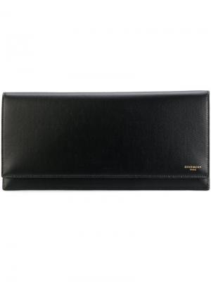 Набор портмоне и визитница Givenchy. Цвет: чёрный