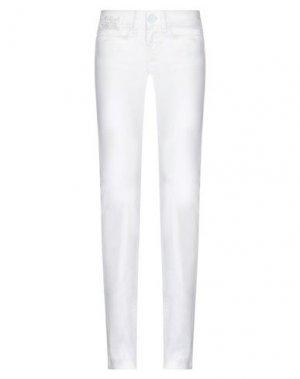 Джинсовые брюки KILLAH. Цвет: белый