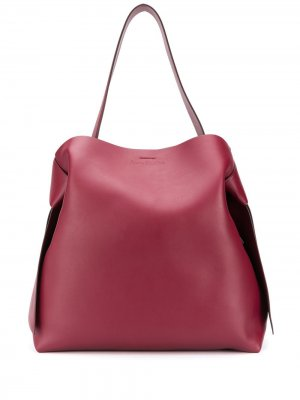 Большая сумка-тоут Musubi Acne Studios. Цвет: красный