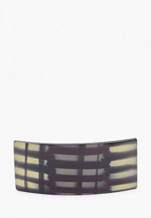 Заколка Hatparad Squbl, 9.5х4 см. Цвет: черный