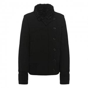 Куртка Ann Demeulemeester. Цвет: чёрный