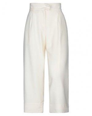 Повседневные брюки CARVEN. Цвет: слоновая кость