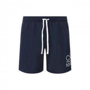Плавки-шорты Calvin Klein. Цвет: синий