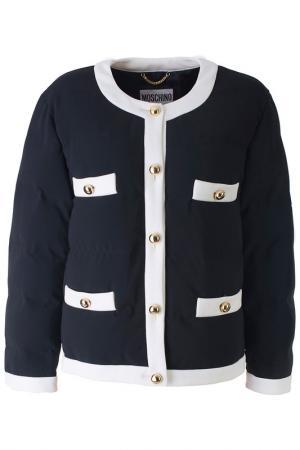 Куртка Moschino. Цвет: черный