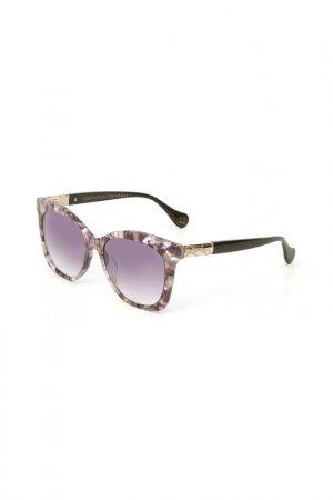 Очки солнцезащитные Enni Marco. Цвет: разноцветный, серый