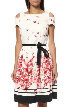 Платье Comma. Цвет: белый