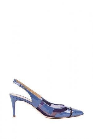 Босоножки Deimille. Цвет: blue