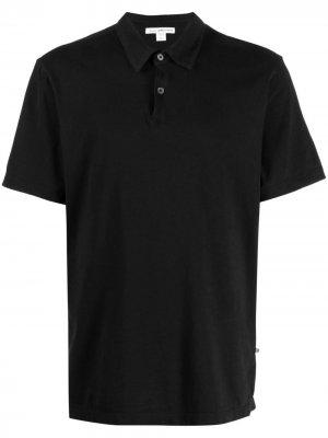 Рубашка поло из джерси James Perse. Цвет: черный