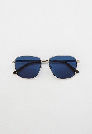 Очки солнцезащитные Gucci GG0987SA. Цвет: серебряный