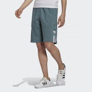 Шорты Adicolor 3D Trefoil Ombré Originals adidas. Цвет: none