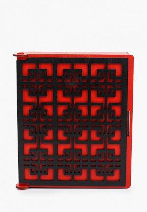 Ключница настенная Канышевы. Цвет: красный