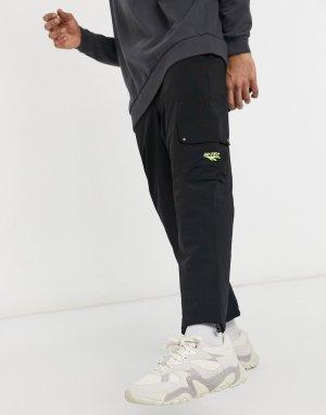 Черные брюки карго -Черный цвет Hi-Tec