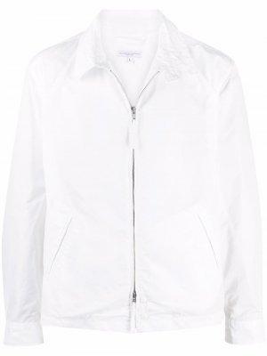 Куртка-рубашка на молнии Engineered Garments. Цвет: белый