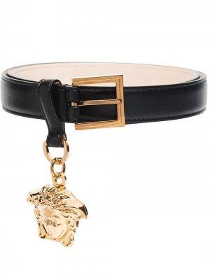 VERS MEDUSA CHARM BELT Versace. Цвет: черный