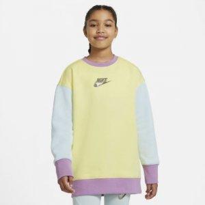 Свитшот для девочек школьного возраста Nike Sportswear - Желтый