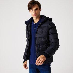 Верхняя одежда Куртка Lacoste. Цвет: темно-синий