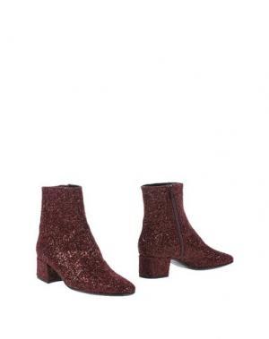 Полусапоги и высокие ботинки CARRARO. Цвет: кирпично-красный