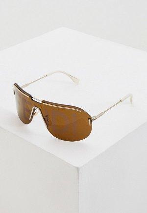 Очки солнцезащитные Fendi FF M0098/S 3YG. Цвет: белый