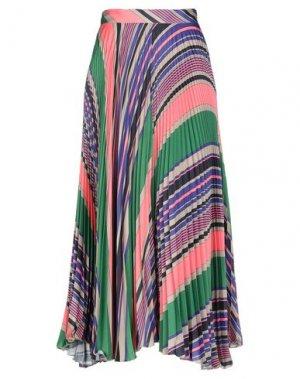 Длинная юбка ATTIC AND BARN. Цвет: розовый