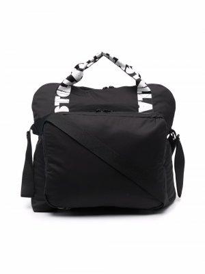 Пеленальная сумка с логотипом Stella McCartney Kids. Цвет: черный