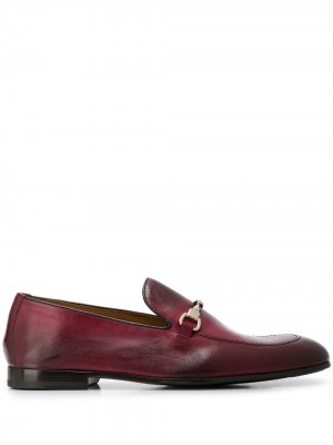 Doucals лоферы Horsebit с миндалевидным носком Doucal's. Цвет: розовый