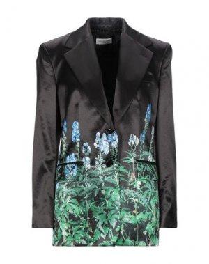 Пиджак DRIES VAN NOTEN. Цвет: зеленый