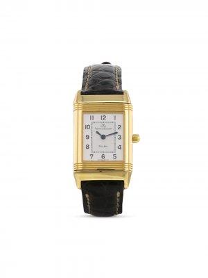 Наручные часы Reverso Lady pre-owned 20 мм 2000-х годов Jaeger-LeCoultre. Цвет: черный