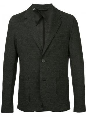 Костюмный пиджак на двух пуговицах Lanvin. Цвет: серый