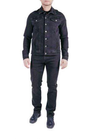 Куртка джинсовая CUDGI CLUB. Цвет: серый