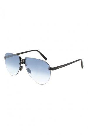 Солнцезащитные очки Philipp Plein. Цвет: черный