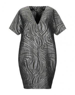 Короткое платье JO NO FUI. Цвет: зеленый-милитари