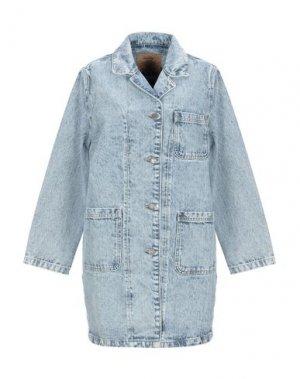 Джинсовая верхняя одежда AMERICAN VINTAGE. Цвет: синий