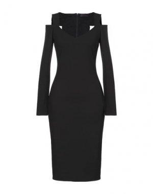 Платье до колена HALE BOB. Цвет: черный