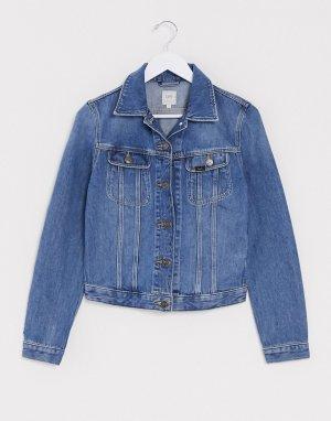 Голубая джинсовая куртка Lee Rider-Синий Jeans