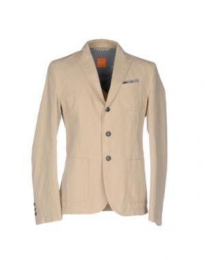 Пиджак BOSS HUGO. Цвет: бежевый