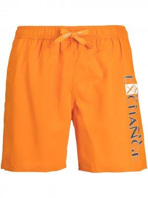 Logo swim shorts Armani Exchange. Цвет: оранжевый