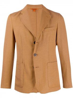 Однобортный пиджак Barena. Цвет: коричневый