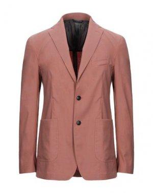 Пиджак HEVÒ. Цвет: ржаво-коричневый