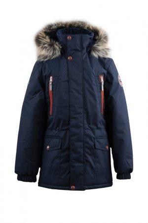 Куртка ROWEN KERRY. Цвет: темно-синий