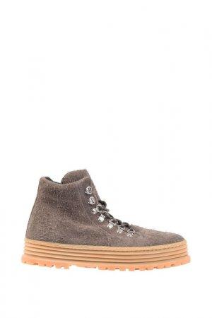 Ботинки Premiata. Цвет: бежевый