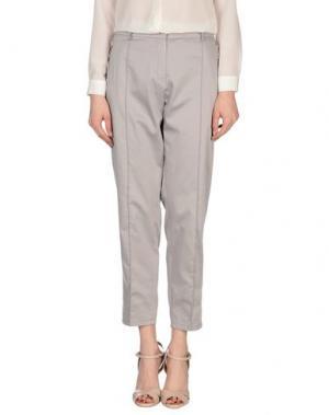 Повседневные брюки CLIPS MORE. Цвет: серый