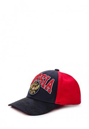 Бейсболка Atributika & Club™ Russia. Цвет: красный