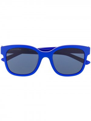 Square-frame sunglasses Balenciaga Eyewear. Цвет: синий