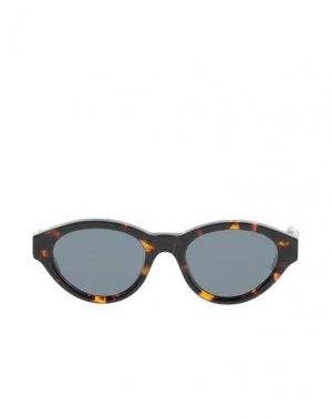 Солнечные очки KOMONO. Цвет: темно-коричневый