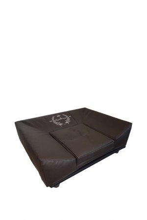 Софа для животных дизайнерская ANTEPRIMA. Цвет: шоколадный