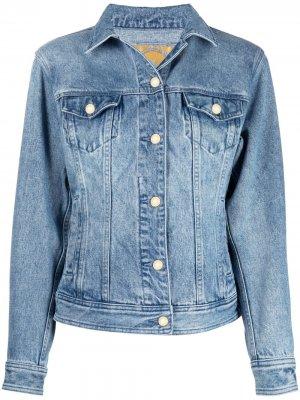 Джинсовая куртка Michael Kors. Цвет: синий