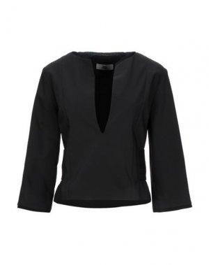 Блузка IXOS. Цвет: черный
