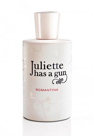 Парфюмерная вода Juliette Has a Gun ROMANTINA 50 мл. Цвет: розовый
